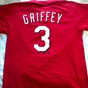 Ken Griffey Jersey T Shirt